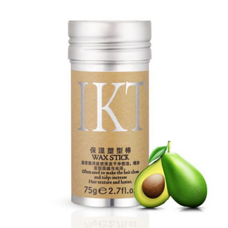 Avocado Hair Wax Professional Hair Finishing Cream Not Greasy Hair Oil Styling Pomade Stick Fast Easy