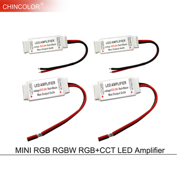 Wzmacniacz Led kontroler DC5-24V regenerator sygnału akcesoria do RGB RGBW RGB + wtc RGBWW RGBCW 5050 3528 taśmy Led 4-6Pin JQ tanie i dobre opinie CHINCOLOR common anode YB-267 RGB RGBW RGB+CCT led amplifier NONE plastic 2 years 3*4A 4*4A 5*3A DC 5-24V ROHS 50 60Hz 4PIN 5PIN 6PIN wire