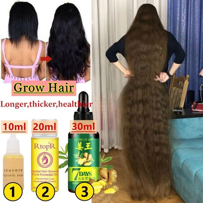 30/20/10 ml soro eficaz do crescimento do cabelo rápido grosso para o cabelo impedir a perda de cabelo danificado reparação do cabelo produtos naturais dos cuidados com o cabelo