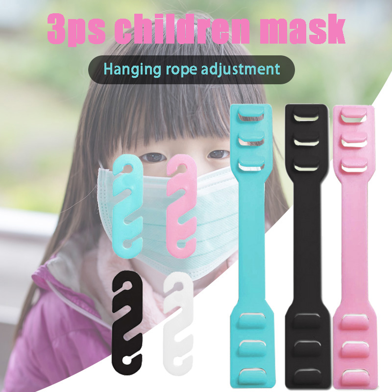 Reusable Adjustable Silicone Mounting Ear Buckle Strap For Mouth-Muffle Face Cover Ears Protector Non-Slip K2
