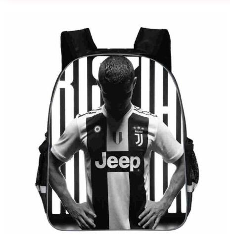 Mochila Hombre Rucksack Bookbag Backpack 3D Cristiano Ronaldo Print Zaino Juve CR7 School Bags For Teenage Boys Girls