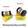 Запасные части станка электроискровой обработки водонепроницаемый шкив направляющий ролик колеса в сборе OD32 * длина 60 для обрезок проволок...