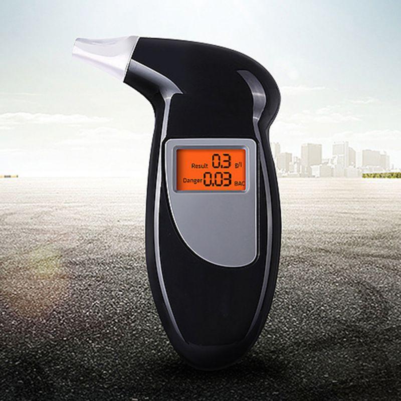 Handheld Alcohol tester alkomat ketone keto meter alcoholimetro Digital alcotest Breathalyzer LCD Detector Backlight Light new