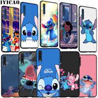 IYICAO Lilo Stitch miękki futerał silikonowy do Samsung Galaxy A70 A60 A50 A40 A30 A20 A10 M10 M20 M30 M40 A20E pokrywa