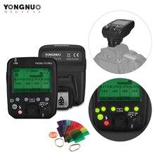 YONGNUO YN560 TX برو 2.4G على الكاميرا فلاش الزناد لاسلكية الارسال لكانون DSLR كاميرا YN862/YN968/YN200/YN560 Speedlite