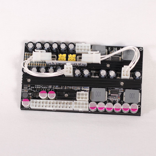 500 ワットpico box X7 ATX車pcハイパワー 24pinデジタルdc atx psu電源スイッチデュアル入力 12v〜 24v dcコンピュータ