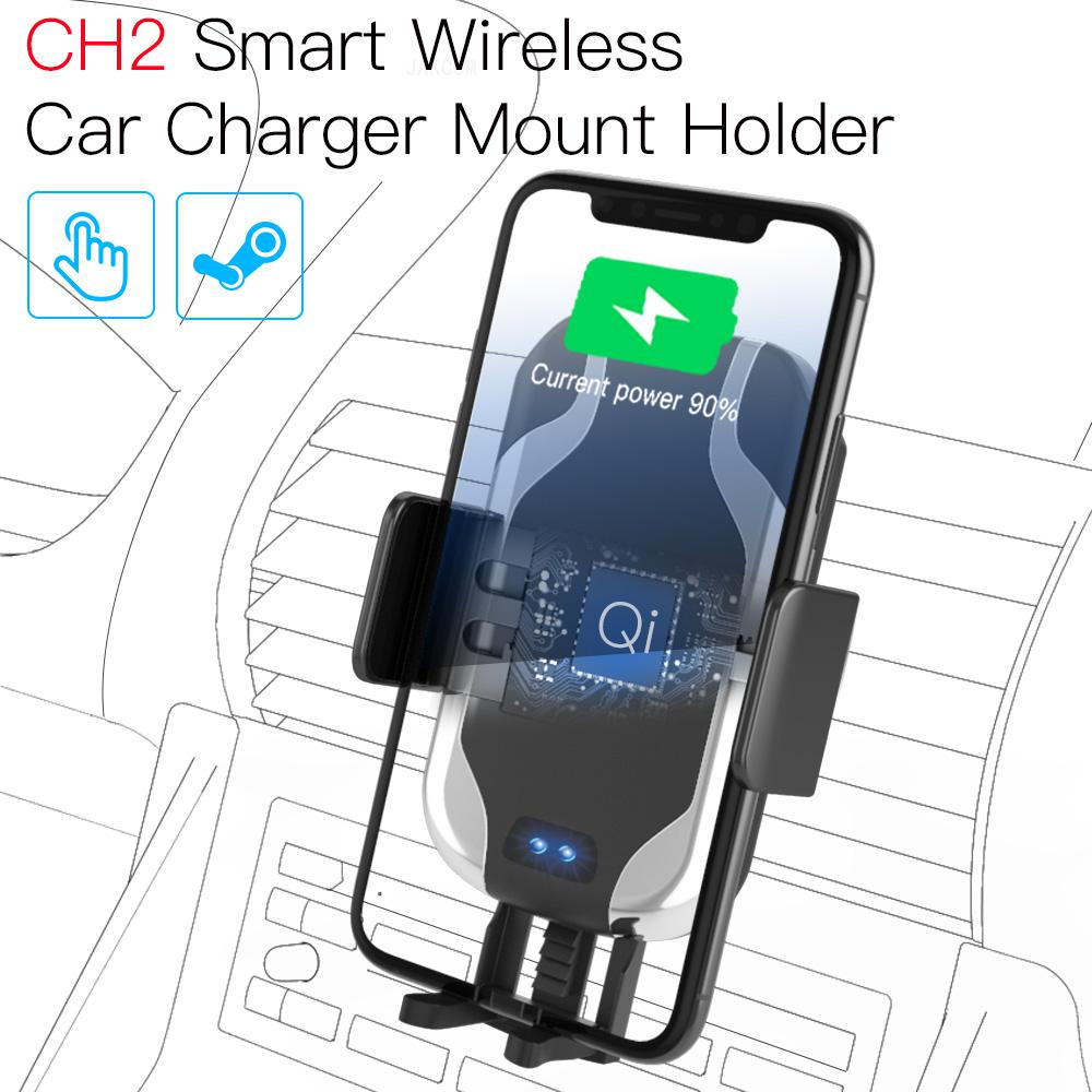 JAKCOM CH2 Smart Wireless Car Charger Mount Holder New arrival as phone solar panel li ion charger i and watch charging(China)