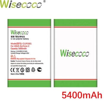 WISECOCO 5400mAh C11P1501 Battery For Asus Zenfone 2 Laser ZE601KL Selfie ZE550KL ZE600KL ZD551KL Smart Phone