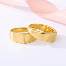 Простые круглые кольца для мужчин и женщин красивое розовое