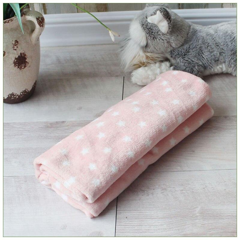 Soft Pet Blanket Warm Dog Cat Mat Fleece Pet Puppy Blanket Towel Small Medium Large Dogs Cats Sleeping Sofa Cover Pet Supplies 11