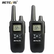 A Pair RETEVIS RT41 NOAA Two Way Radio Walkie Talkie Licence-free FRS VOX USB Charging USA Weather Alert Receiver