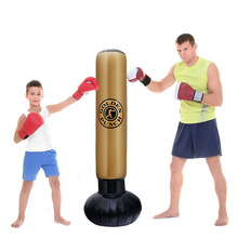 HOT boxing punching bag inflatable thickened pvc boxing bag for adult fitness tr