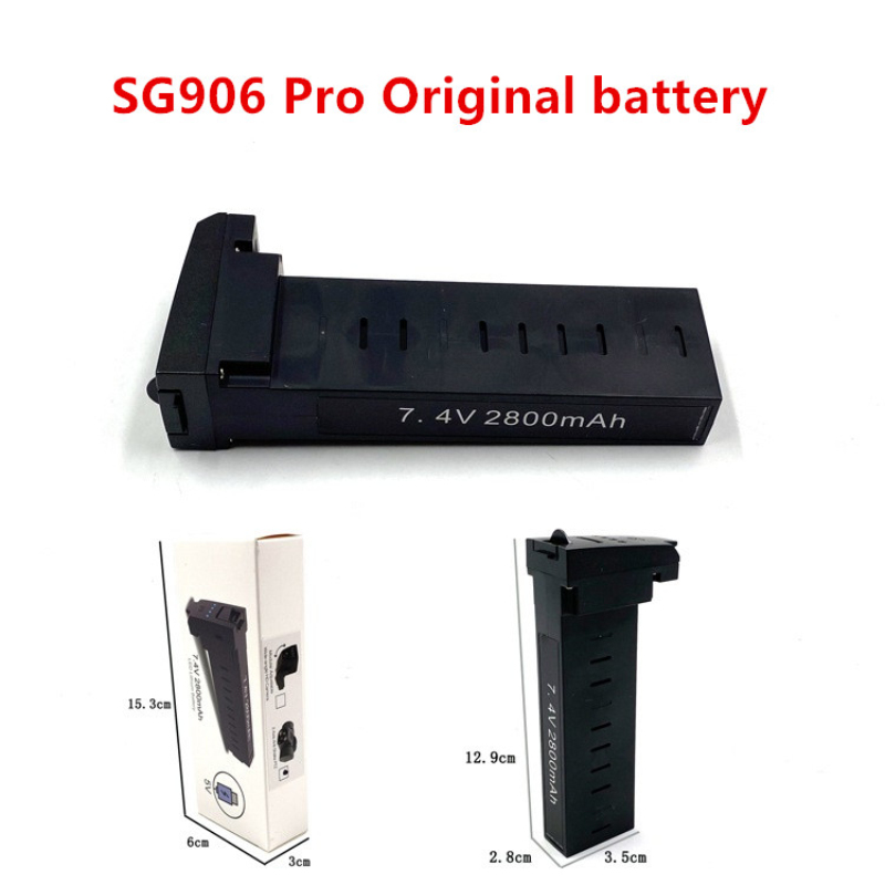 Original Drone All Accessories For SG906 Pro GPS RC Drone Spare Parts Daquan 7.4V 2800mAh Battery And Other Accessories