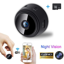 A9 Mini Wifi Camera 1080P Hd Remote Surveillance Camera Night Vision Home Monitor Security Camera Micro Camera +32G TF card
