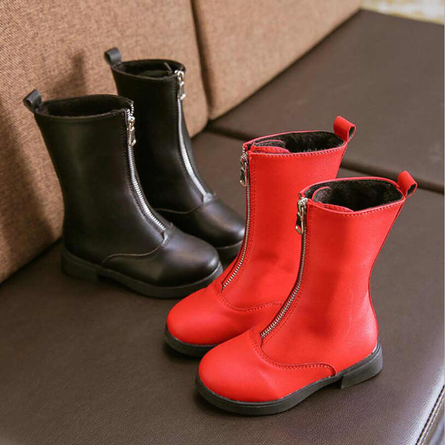 2020 New year spring winter girls boots