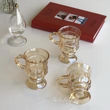 Czara odporność na wysoką temperaturę szklane bańki kubki do kawy kreatywne przybory kuchenne szklanka do wina szklanki do picia tanie tanio ROUND Ce ue Szkło Przezroczysty Ekologiczne Zaopatrzony Glass Cup Transparent Amber Golden High Temperature Resistance