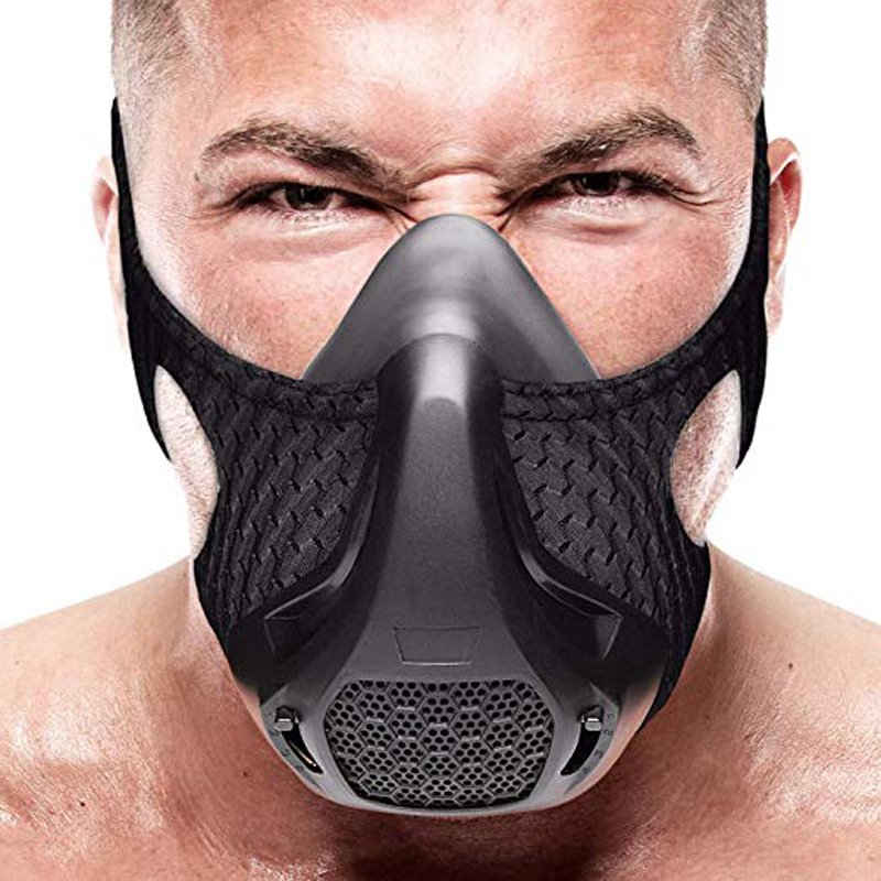 JAISATI Sports Running Mask Training Fitness Gym Workout Cycling Elevation High Altitude Training Conditioning Sport Masks 3.0