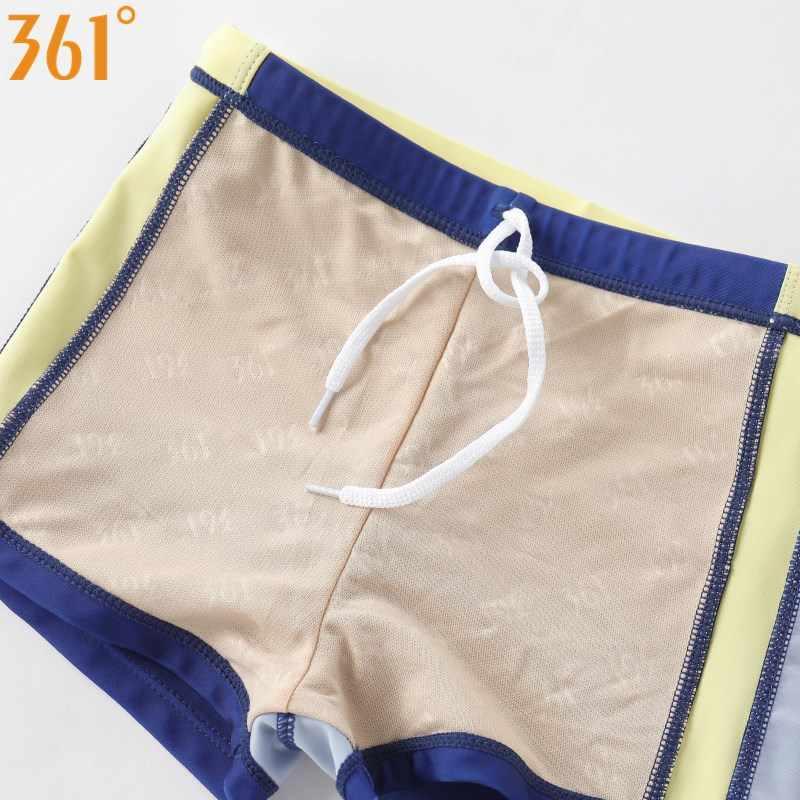 361 grados niños traje de baño para niños 4-12 años Niño ropa de baño 2019 verano niños natación tronco pantalones cortos Spandex Nylon piscina ropa de playa