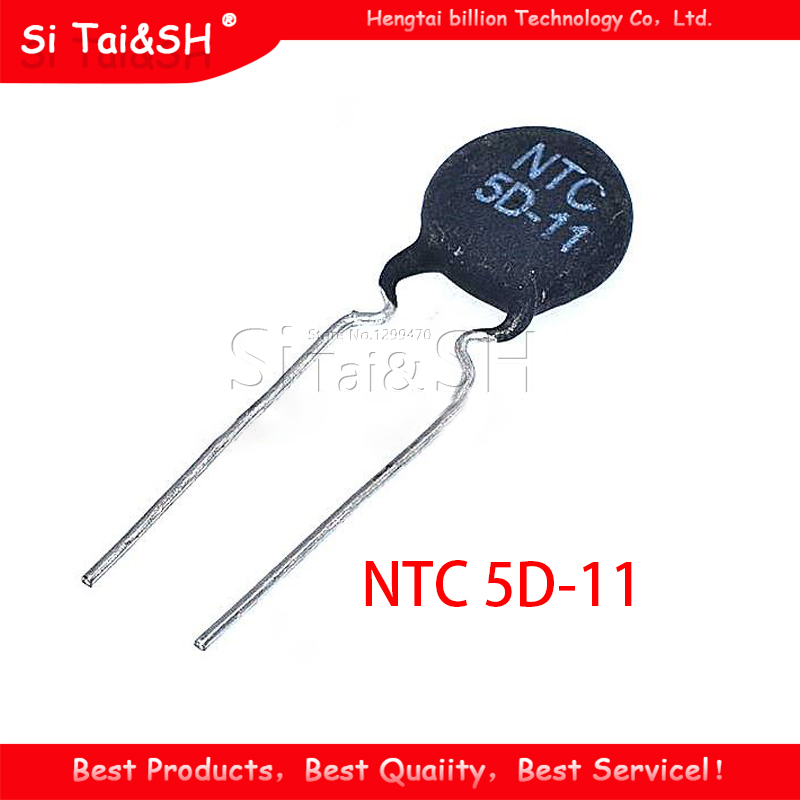 10pcs Thermistor Widerstand NTC 5D-11 Thermische Widerstand