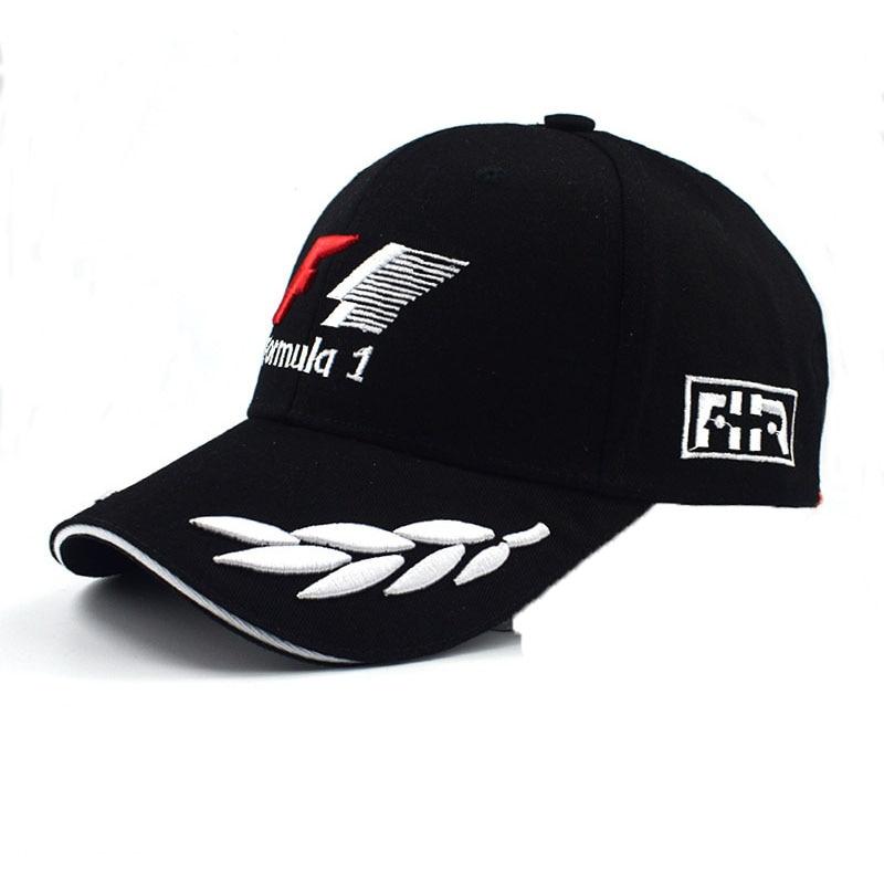 2019 Sports F1 Racing   Cap   Mens Hat For Fish Outdoor Fashion Line   Baseball     Cap   Long Visor Brim Shade Snapback Sun Hat Bone Gorras