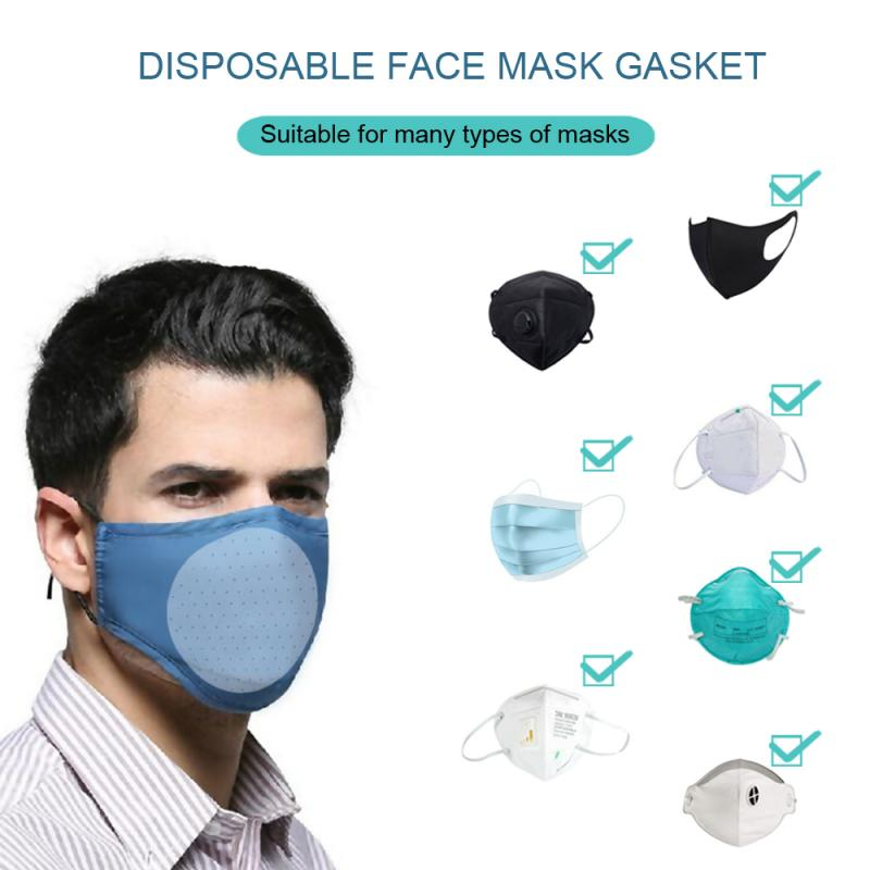 50pc Unisex High Efficiency Filter Non-woven Anti-virus Bacteria Proof Flu Face Masks Carbon Filter Windproof Mouth-muffle Masks