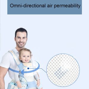 Image 4 - Adjustable 0 36M Breathable Ergonomic Baby Carriers Backpack Portable Baby Sling Wrap Cotton Infant Newborn Kangaroo Bag Hipseat