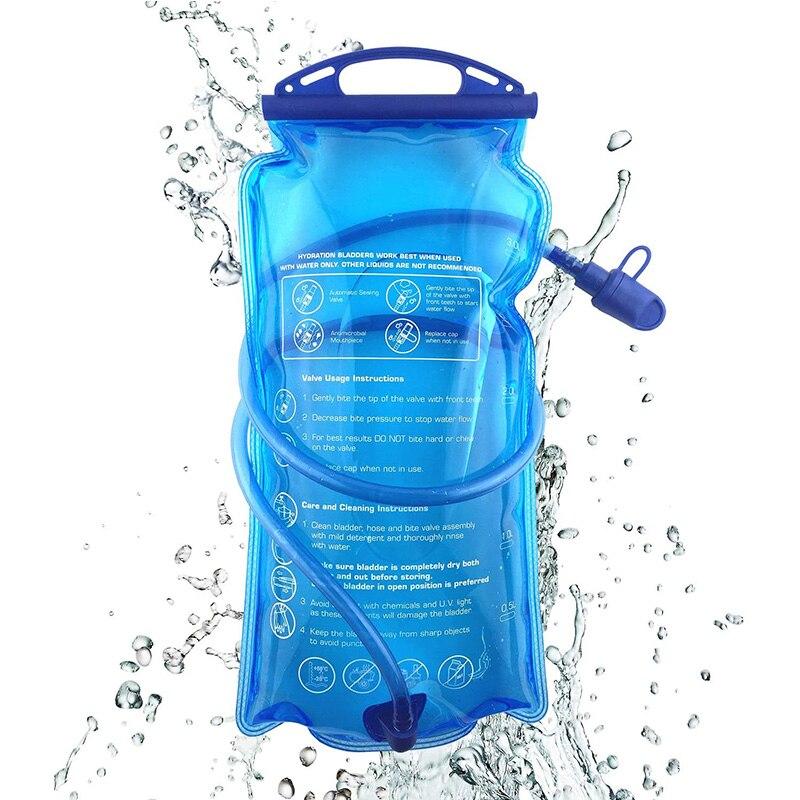 2L Hydration Pack Water Bladder Bag Rucksack Backpack Cycling Running Camp Bag