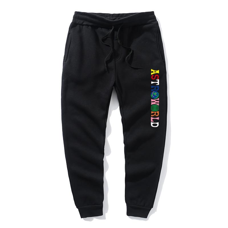 Hot selling European and American men's sweatpants men's and women's casual pants hip hop street sweatpants fashion itself harla