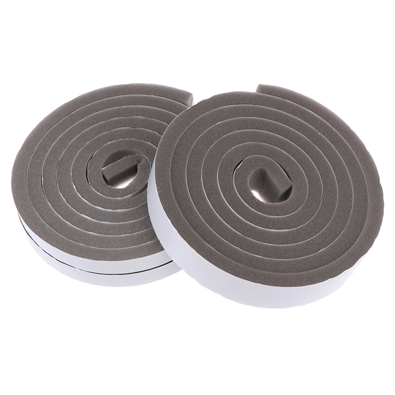 2M Soft Self-adhesive window sealing strip car door noise insulation Rubber dusting sealing tape Window Accessories