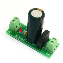 010 Single Rectifier Filter Board Capacitor Dual Dc Power Supply Module for Power Amplifier from Ac to Dc diy pcb board for 62pcs capacitor array power supply rectifier board