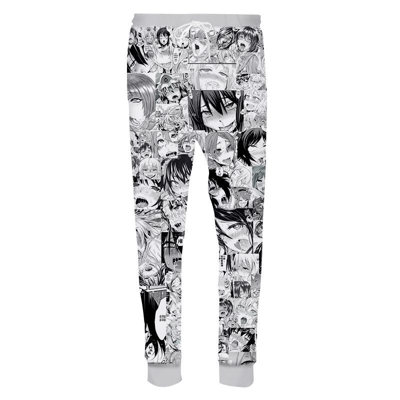 AliExpress Hot Selling 3D Digital Printing A Customizable MEN'S Casual Pants Trousers Sweatpants Foreign Trade Europe And Americ