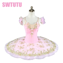women professional ballet tutu pink girl kids classical costumesBT8991