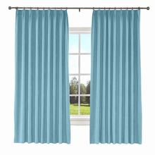 Kante Pinch Pleat Solid Polyester Cotton Curtain Window Drapery Size Liner Custom 34 Colors (1 Panel)  ChadMade