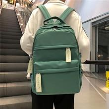 2020 Waterproof Teenagers School Bags Girls Backpack Shoulder Bag Women Backpack Daypack Work Travel Laptop Backpack Mochila new college backpack casual girls teenagers shoulder bags canvas zipper daypack book bag travel backpack