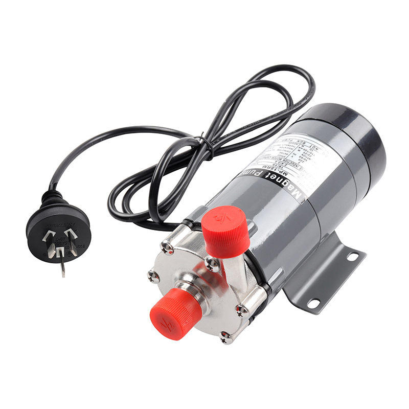 304 Stainless Head Magnetic Pump 15R Homebrew Food Grade High Temperature Resisting 140C Beer Magnetic Drive Pump Home Brew 1pc