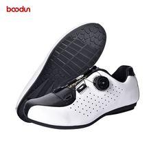 Boodun/Обувь для велоспорта из натуральной кожи мужчин и женщин;