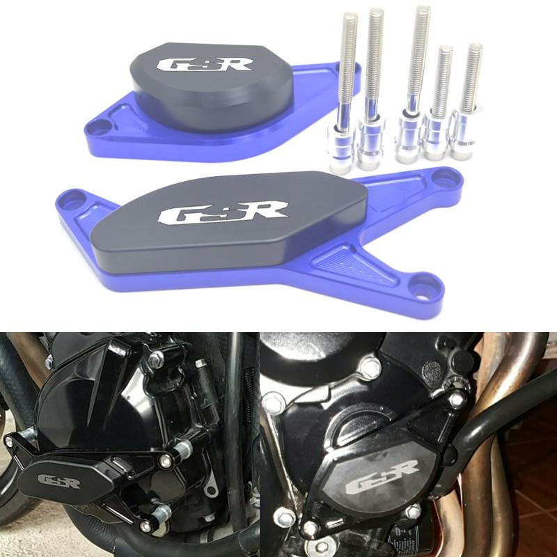 Для SUZUKI GSR750 GSR600 GSR400 GSR 400 600 750, ЧПУ, комплект для двигателя, противоударные подушечки, ползунки, защита