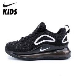 NIKE AIR MAX 720, zapatos para niños, recién llegados, zapatillas para correr para niños, zapatillas ligeras para deportes al aire libre, #849558