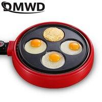 DMWD Elektro Crepe Maker Pie Pfannkuchen Backen Maschine Nicht stick Ei Herd Herd Steak Eier Omelett Pfanne Frühstück grill EU|Elektro Pfannen|   -