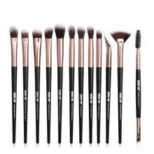 цена на Professional Makeup Brushes Set 12 pcs/lot Makeup Brushes Set Eye Shadow Blending Eyeliner Eyelash Eyebrow Brush For Makeup Tool