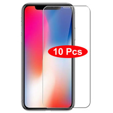 10 шт./лот 9H закаленное стекло для iPhone 11 12 Pro X XR XS Max 12 mini Защитная пленка для iphone 7 8 6 6s Plus 5 5s 5c SE 4 4s