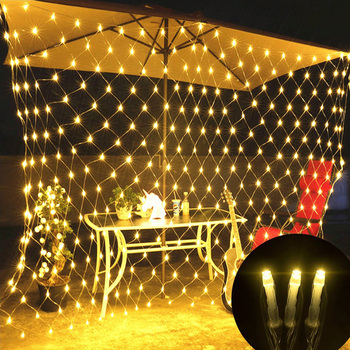 LED Net Mesh String Light Outdoor Waterproof Chirstmas Wedding Party Holiday Decor Connectable with Tail Plug 3X2M 200LED D35 us plug eu plug 20m 200leds outdoor waterproof led string light connectable with tail plug wedding christmas party holiday d30