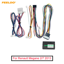 Car 16pin Audio Wiring Harness With Canbus Box For Renault Mégane II (2002–2009) Aftermarket Stereo Installation Wire Adapter
