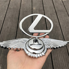 Auto Front Hood Bonnet Sticker Emblem Car Head Ornament Badge For Lexus LS400 LS430 LX470