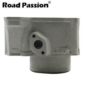 Image 4 - כביש תשוקה אופנוע מנוע צילינדר + בוכנה + טבעות 78mm (קוטר צילינדר) עבור Kawasaki KLX250 1993 2018 KLX300 1996 2007