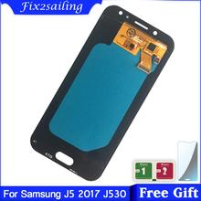 SUPER AMOLED LCD For SAMSUNG Galaxy J5 PRO 2017 J530 LCD Display J530F J530FM SM J530F J530G/DS Touch Screen Digitizer Assembly