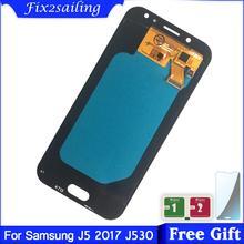 SUPER AMOLED LCD do SAMSUNG Galaxy J5 PRO 2017 J530 wyświetlacz LCD J530F J530FM SM-J530F J530G DS ekran dotykowy Digitizer zgromadzenie tanie tanio fix2sailing Pojemnościowy ekran 1920x1080 3 For Samsung Galaxy J5 2017 J530 J530F LCD i ekran dotykowy Digitizer Black Blue Gold Pink