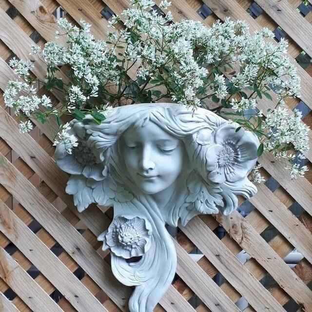 Vaso statua da giardino in ceramica 12