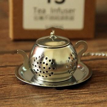 Kreatywny sitko do herbaty ze stali nierdzewnej 304 herbata wyciekająca sitko do herbaty artefakt do herbaty sitko do herbaty słodka zaparzaczka do herbaty tanie i dobre opinie CN (pochodzenie) stainless steel Small round pot generous pot 3 5cm 11cm