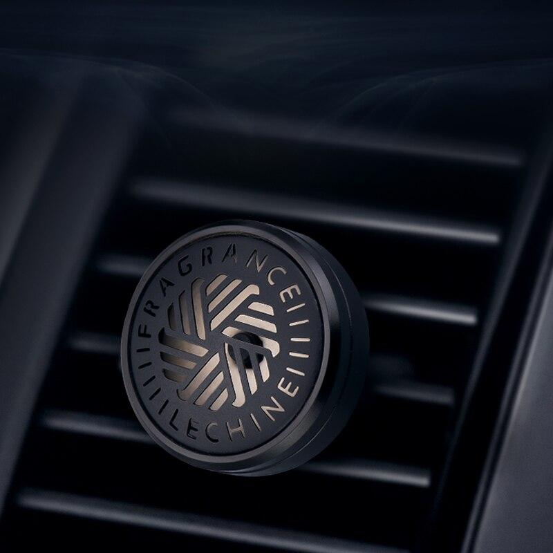 Luxury Metal Auto Air Fragrance Vent Clip Simple Design Car Air Freshener Mini Size Car Perfume Good Smell the Car Difuser